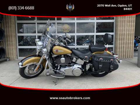 2017 Harley-Davidson FLSTC Heritage Softail Classic for sale at S S Auto Brokers in Ogden UT