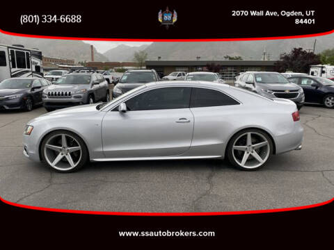 2011 Audi S5 4.2 quattro Premium Plus for sale at S S Auto Brokers in Ogden UT