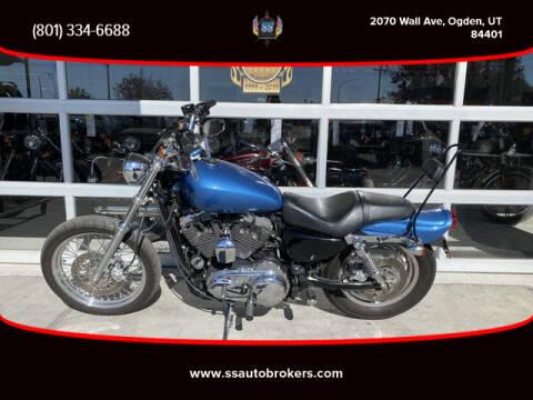2008 Harley-Davidson XL1200C Sportster 1200 Custom for sale at S S Auto Brokers in Ogden UT