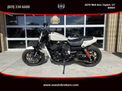 2018 Harley-Davidson STREET ROD XG750 for sale at S S Auto Brokers in Ogden UT
