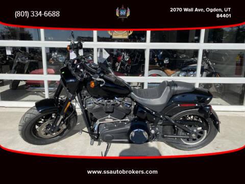 2018 Harley-Davidson FXFB Fat Bob 107 for sale at S S Auto Brokers in Ogden UT