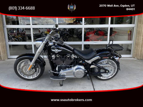 2018 Harley-Davidson FLFBS Fat Boy 114 for sale at S S Auto Brokers in Ogden UT