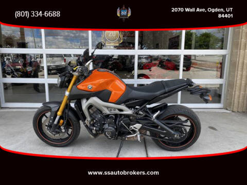 2014 Yamaha FZ-09 for sale at S S Auto Brokers in Ogden UT