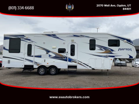 2011 Keystone RAPTOR RP300MP for sale at S S Auto Brokers in Ogden UT