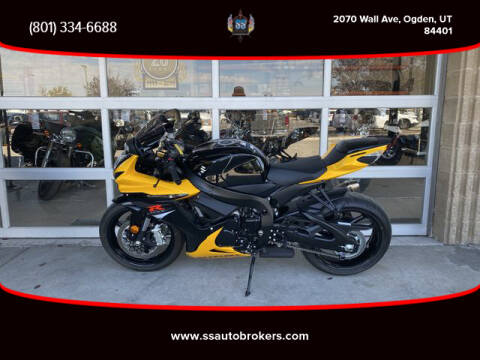2017 Suzuki GSX-R600 for sale at S S Auto Brokers in Ogden UT