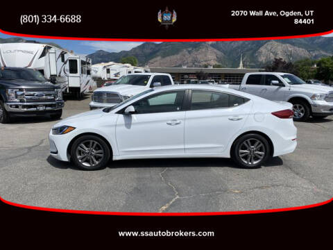 2018 Hyundai Elantra for sale at S S Auto Brokers in Ogden UT