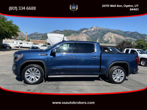 2019 GMC Sierra 1500 for sale at S S Auto Brokers in Ogden UT