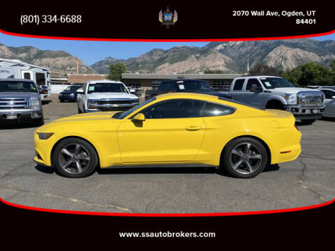 2015 Ford Mustang for sale at S S Auto Brokers in Ogden UT