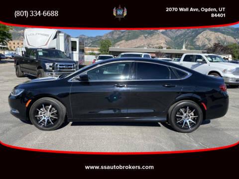 2016 Chrysler 200 for sale at S S Auto Brokers in Ogden UT