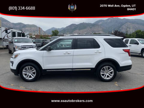 2018 Ford Explorer for sale at S S Auto Brokers in Ogden UT