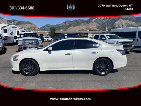 2014 Nissan Maxima for sale at S S Auto Brokers in Ogden UT