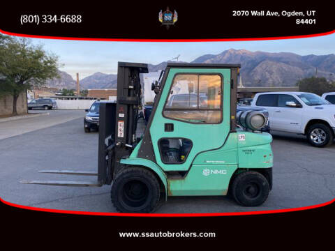2014 Mitsubishi FORKLIFT for sale at S S Auto Brokers in Ogden UT