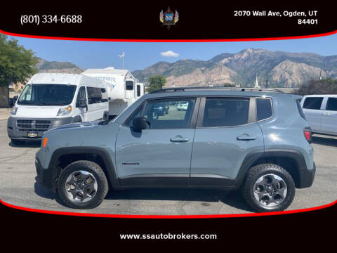 2018 Jeep Renegade for sale at S S Auto Brokers in Ogden UT
