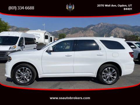 2020 Dodge Durango for sale at S S Auto Brokers in Ogden UT