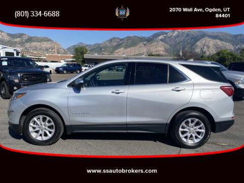 2018 Chevrolet Equinox for sale at S S Auto Brokers in Ogden UT