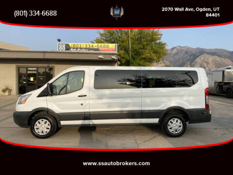 2016 Ford Transit Passenger for sale at S S Auto Brokers in Ogden UT