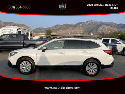 2019 Subaru Outback for sale at S S Auto Brokers in Ogden UT