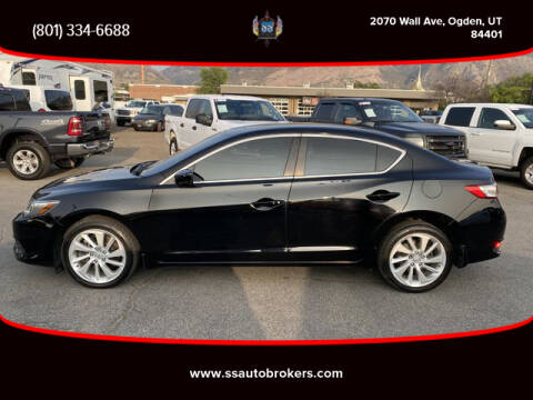 2016 Acura ILX for sale at S S Auto Brokers in Ogden UT