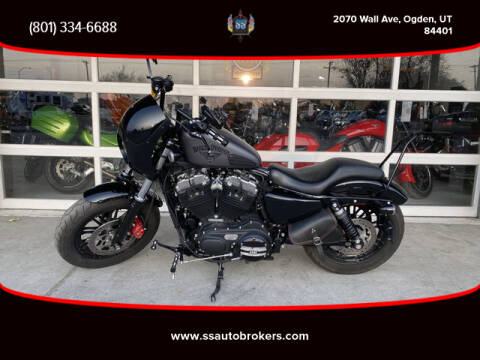 2016 Harley-Davidson SPORTSTER FORTY-EIGHT XL1200 for sale at S S Auto Brokers in Ogden UT