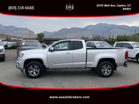 2015 Chevrolet Colorado for sale at S S Auto Brokers in Ogden UT