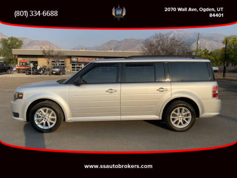 2017 Ford Flex for sale at S S Auto Brokers in Ogden UT
