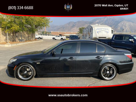 2008 BMW 5 Series for sale at S S Auto Brokers in Ogden UT
