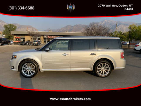 2019 Ford Flex for sale at S S Auto Brokers in Ogden UT