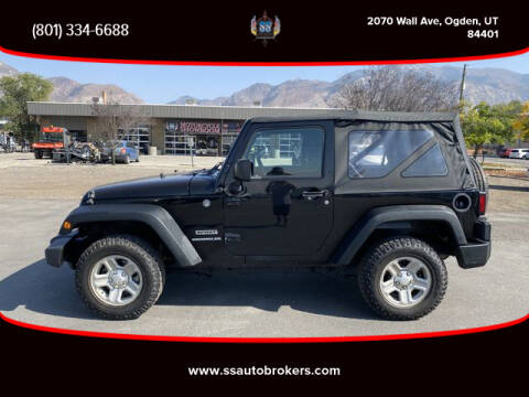 2015 Jeep Wrangler for sale at S S Auto Brokers in Ogden UT