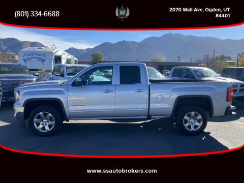 2016 GMC Sierra 1500 for sale at S S Auto Brokers in Ogden UT