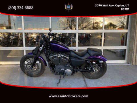 2014 Harley-Davidson XL883N Sporster Iron 883 for sale at S S Auto Brokers in Ogden UT