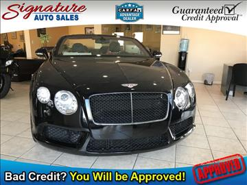 2013 Bentley Continental GTC V8 for sale in Franklin Square, NY