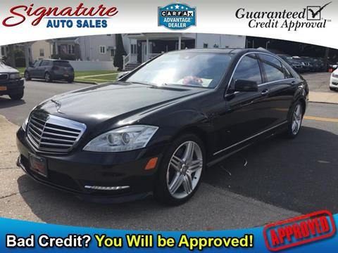 2013 Mercedes-Benz S-Class for sale in Franklin Square, NY