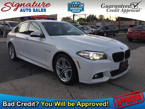 2015 BMW 5 Series for sale in Franklin Square, NY