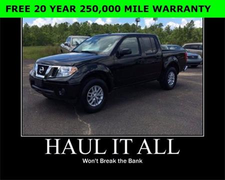 2016 Nissan Frontier for sale in Wiggins, MS