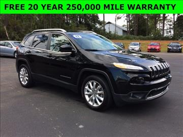 2017 Jeep Cherokee for sale in Wiggins, MS