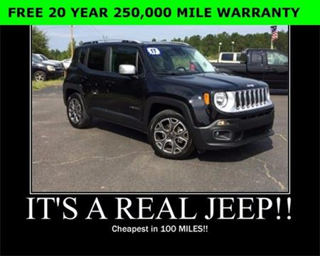 2017 Jeep Renegade for sale in Wiggins, MS