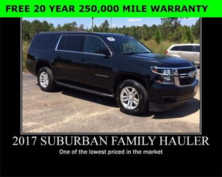 2017 Chevrolet Suburban for sale in Wiggins, MS