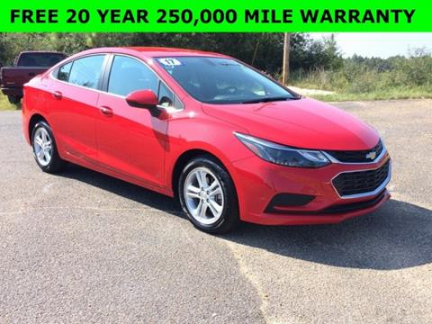 2017 Chevrolet Cruze for sale in Wiggins, MS
