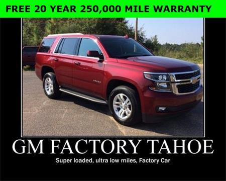 2017 Chevrolet Tahoe for sale in Wiggins, MS
