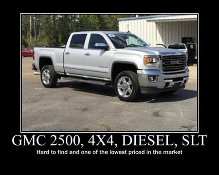 2016 GMC Sierra 2500HD for sale in Wiggins, MS