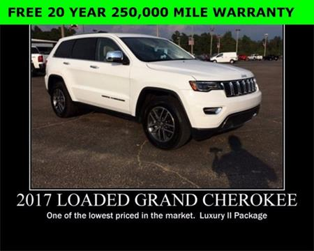 2017 Jeep Grand Cherokee for sale in Wiggins, MS