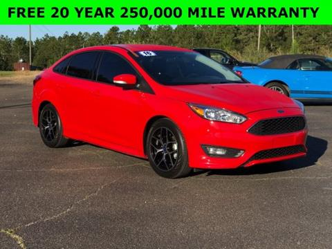 2016 Ford Focus for sale in Wiggins, MS