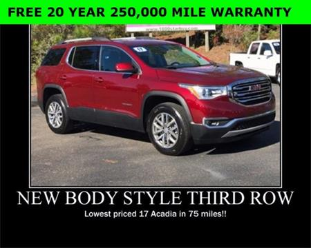 2017 GMC Acadia for sale in Wiggins, MS