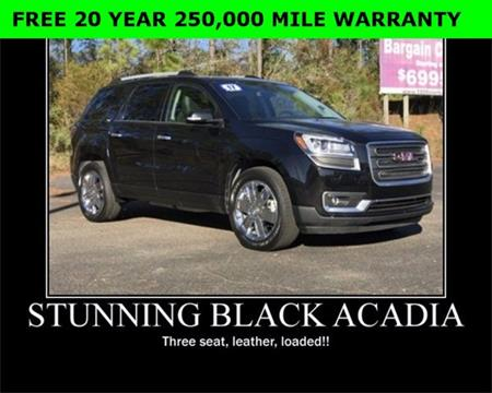 2017 GMC Acadia Limited for sale in Wiggins, MS