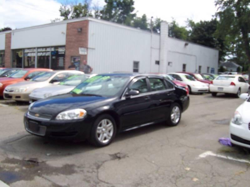 2013 Chevrolet Impala Lt 4dr Sedan In Endwell Ny Select Motorcars