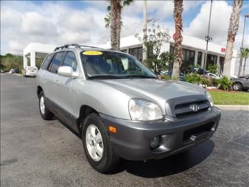 2006 Hyundai Santa Fe for sale in Fort Pierce, FL