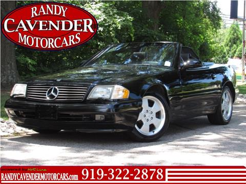 1999 Mercedes-Benz SL-Class for sale in Raleigh, NC