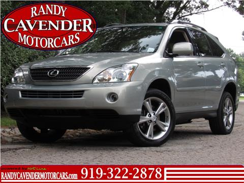 2007 Lexus RX 400h for sale in Raleigh, NC