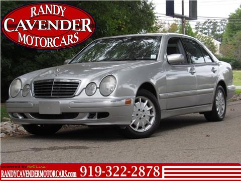 2001 Mercedes-Benz E-Class for sale in Raleigh, NC
