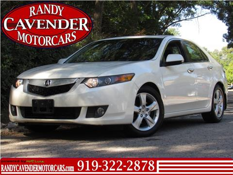 2009 Acura TSX for sale in Raleigh, NC
